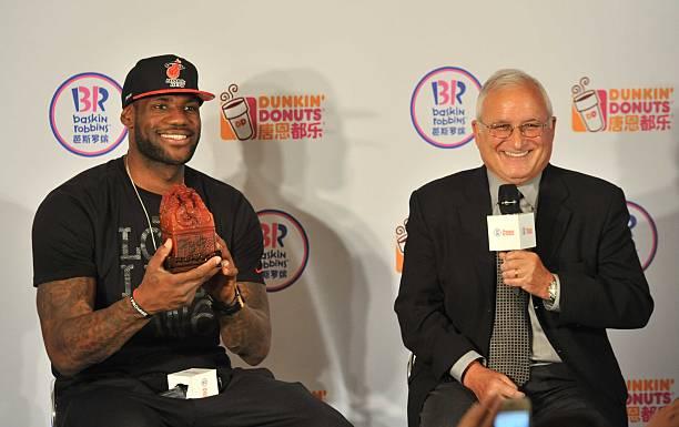 LeBron James Brand Endorsements Ambassador Advertisements Commercials TVC Promotions Associations Sponsors Partners Dunkin Donuts Baskin Robins