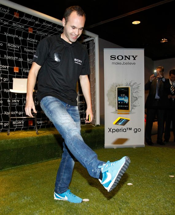 Andres Iniesta Brand Endorsements Brand Ambassador Sponsorship Partners Advertising TVC Spain Barcelona  Sony Xperia