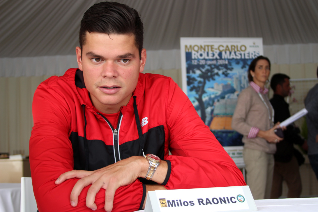 Wrist Watch Brands Endorsed Promoted advertised by tennis stars players Milos Raonic - Rolex