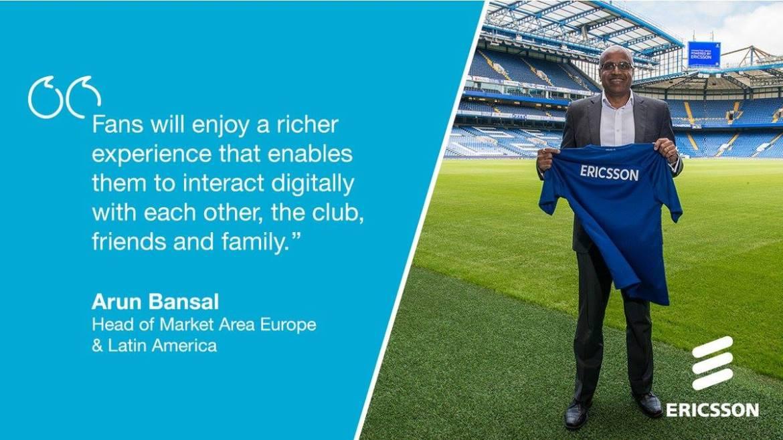 Chelsea Sponsors Partners Brands Deals Endorsements Advertising Ericsson