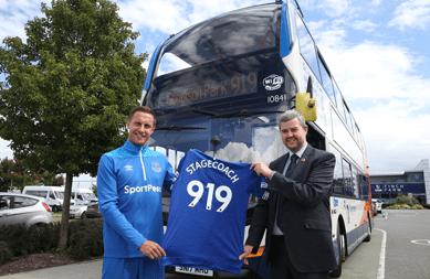 Everton Football Club Partners Sponsors Brand Associations Logos Advertising StageCoach