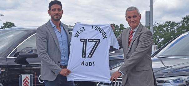 Fulham Football Club Partner Supplier Sponsor Premier League Advertising Brands Logos Audi