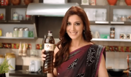Sonali Bendre Brand Endorsements Ads Advertisements TVCs advertising commercials Vera Oil