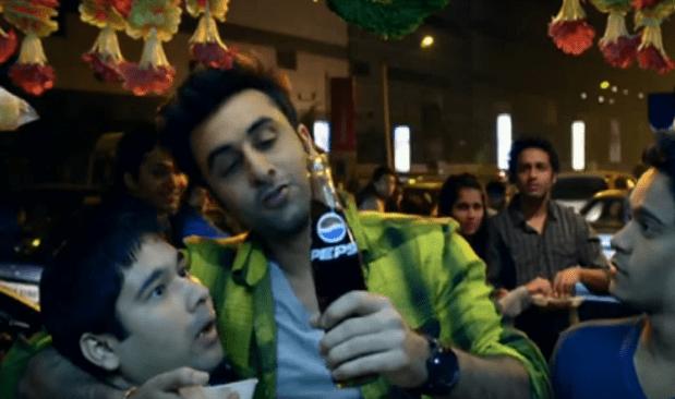 Ranbir Kapoor Brand Ambassador Brand Endorsements Advertisements Ads TVC Promotions Associations Ranbeer Pepsi Coca-cola