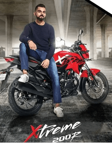 Virat Kohli Brand Ambassador Endorsements Advertising TVCs product promotions brand value list Hero MotoCorp