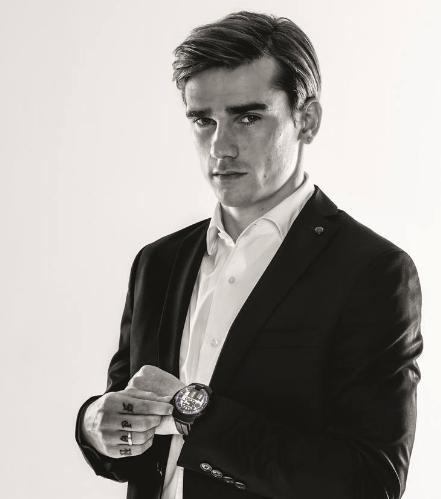 Antoine Griezmann Sponsors Brand Endorsements Brand Ambassador Personal Sponsorship deals list french footballer HYT Watches