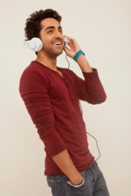 Ayushmann Khurrana brand endorsements brand ambassador list ads tvcs advertisements advertising actor model Blaupunkt India headphones
