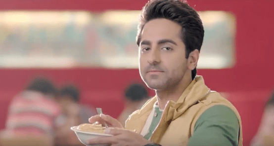 Ayushmann Khurrana brand endorsements ads tvcs advertisements advertising actor model Pizza Hut