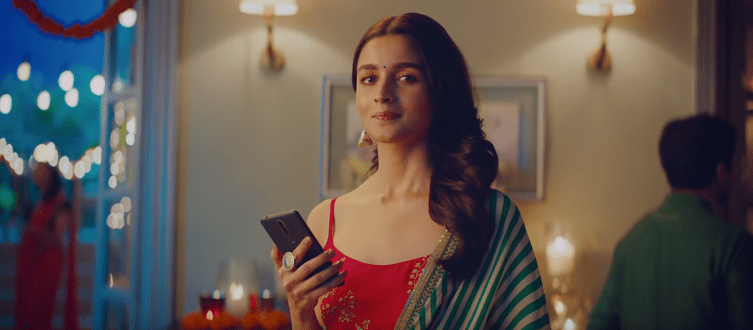 Alia Bhatt Nokia Mobile Smartphones TVC Advertisement Brand Ambassador