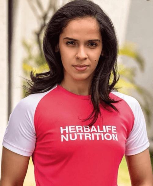 Saina Nehwal Brand Endorsements Advertising Brand Ambassador TVCs Associations Sponsors Herbalife Nutrition