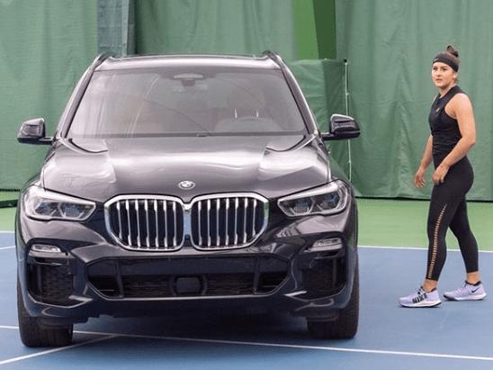 Bianca Vanessa Andreescu Brand Ambassador Endorsements Sponsors List Advertising Partner Commercials TVCs BMW Car