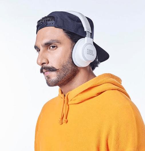 Ranveer Singh Brand Ambassador endorsement list advertising commercials TVCs ads marketing JBL