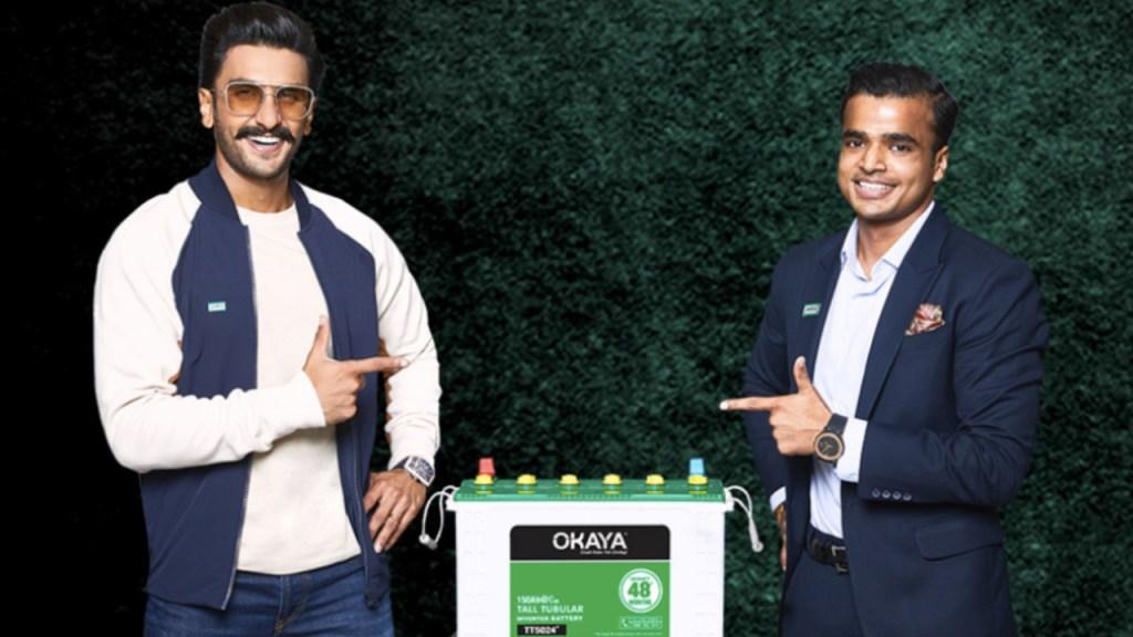 Ranveer Singh Brand Ambassador endorsement list advertising commercials TVCs ads marketing Okaya Power Group