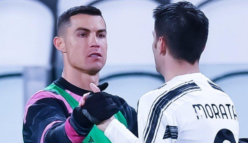 Роналдо вчера покажа дека знае да се радува за головите на соиграчите 📸