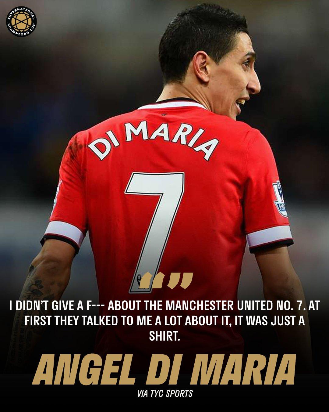 O Ντι Μαρία μάλλον δεν ξέρει από... ιστορία!