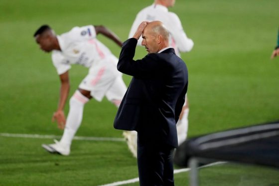 Zidane watches as Shakhtar defeat Madrid