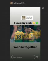'Exceptional' player drops hints on Instagram amid rumour Leeds could bid for him