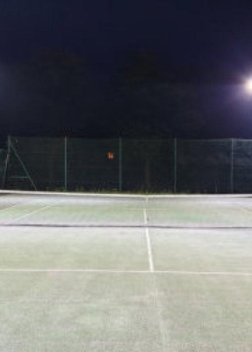 tennis court lighting led flood
