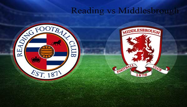 Reading vs Middlesbrough