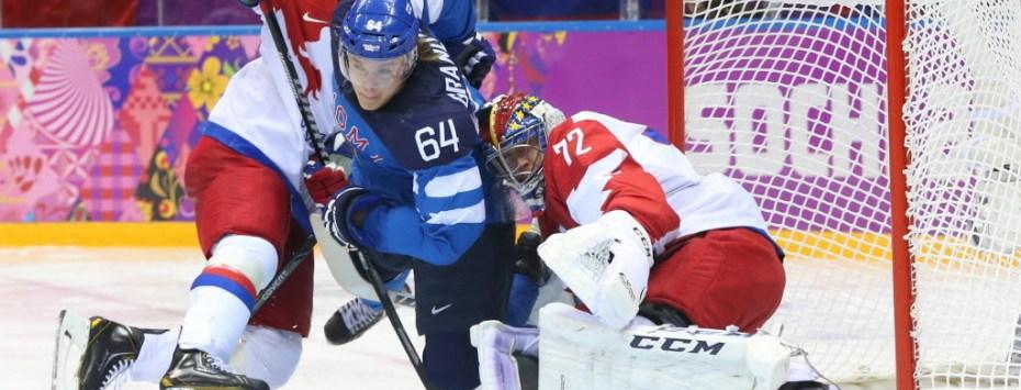 Finlandia Rusia hockey hielo