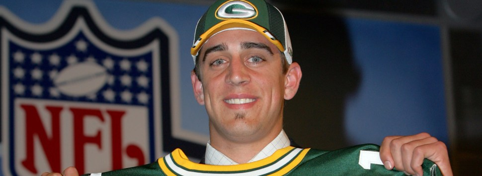 Aaron Rodgers Draft 2005