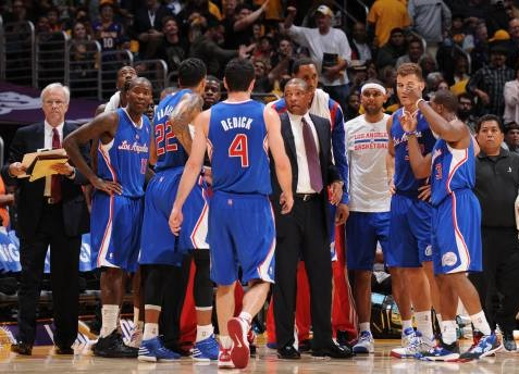 Doc Rivers con los Clippers