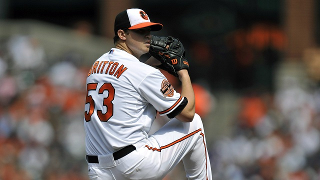 Zach Britton, Orioles