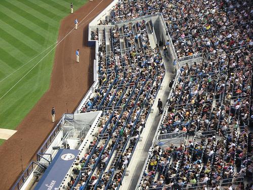 foso Yankee Stadium