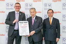 Aggreko 東京2020オリンピック・パラリンピック競技大会のオフィシャルサポーター契約と供給契約を締結
