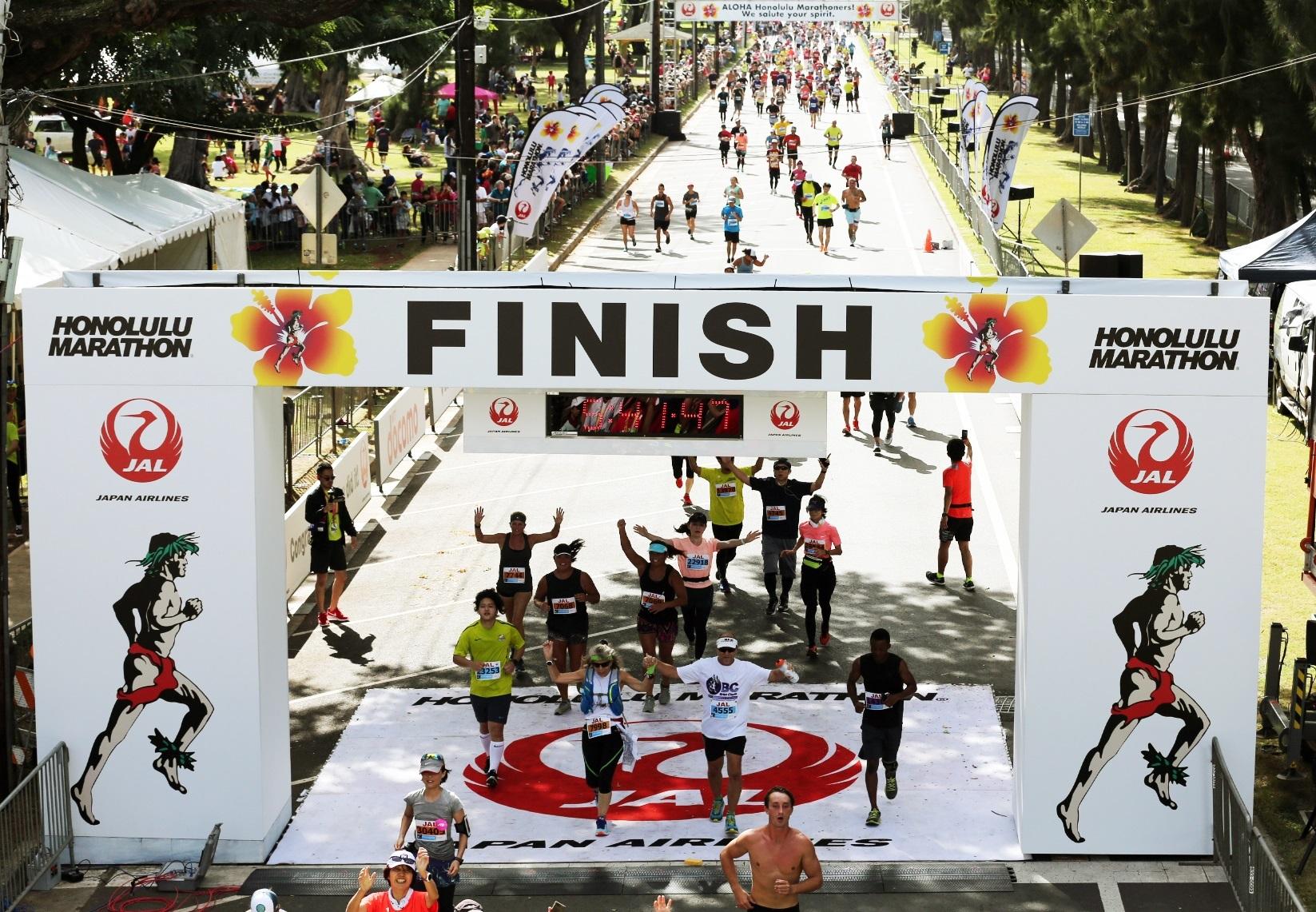 日本人が最も多く参加する海外マラソン JALホノルルマラソン2019年12月8日(日)開催  第1期エントリー募集開始!