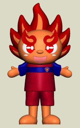 琉球アスティーダ公式マスコット『てぃーだくん』の着ぐるみ製作を、クラウドファンディングで開始!