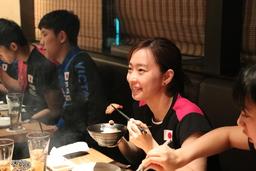おむすびパワーで日本代表選手をバックアップin香港