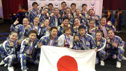 4年連続優勝!日本人選手がダンス大会で世界の頂点に!「ICUチアリーディング世界選手権2019」創価大学生が日本代表として金メダルを獲得!