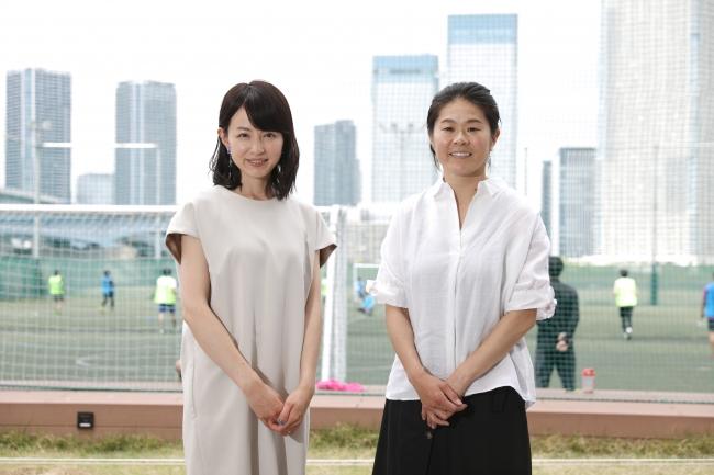 JTBスポーツweb連載「平井理央のスポーツ大陸探検記」 今回のゲストは元なでしこジャパン澤穂希さん
