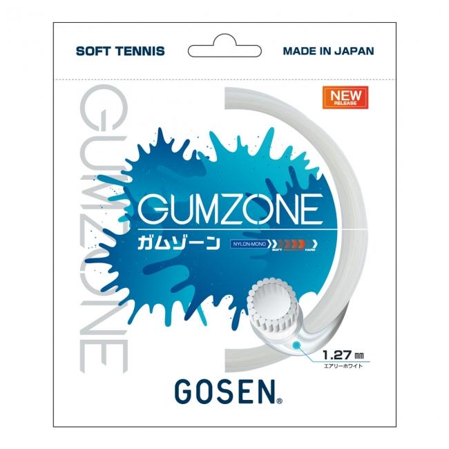 【ゴーセンの挑戦。「ミクロパワー」を超えろ!】ソフトテニスガット「GUMZONE(ガムゾーン)」新発売