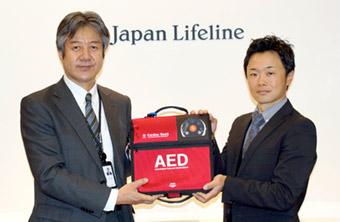 スポーツの現場にAEDを!日本ライフライン株式会社との普及活動をスタート〜福岡地域密着型サイクルロードレースチーム〜(VCドリームス)