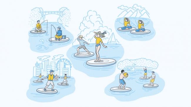 主催者特別賞はグアム旅行!ヤンマーが開発した『Wheeebo』で創り出す、水辺の新たな「遊び」のアイデア募集