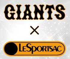 「GIANTS×LeSportsac」初のコラボバッグを発売