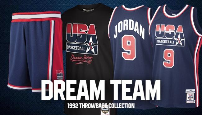 マイケルジョーダン擁するドリームチーム!1992年バスケUSA代表アパレルを取寄開始!