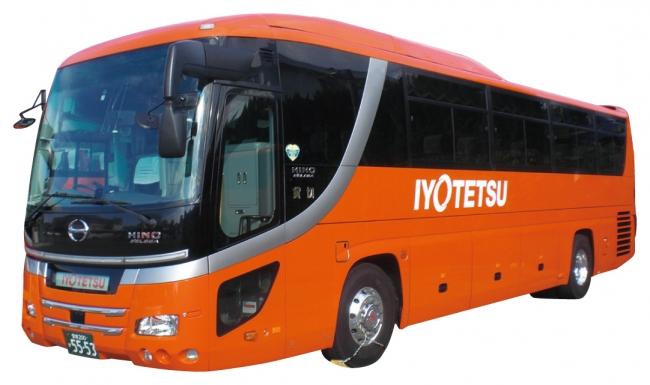 サイクルラック付きバス