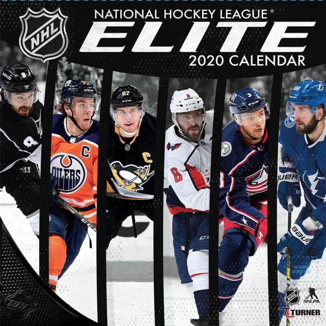 【NHL新シーズン開幕】アイスホッケー2020年度版カレンダーの予約受付開始!
