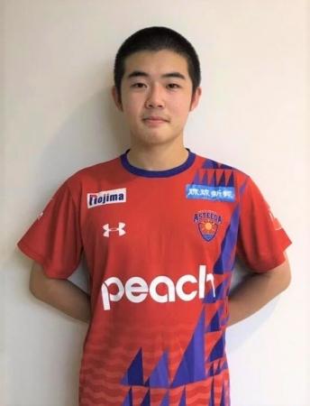琉球アスティーダ『ノジマTリーグ2019-2020シーズン』に、愛工大名電『加山 裕』の参戦が決定。