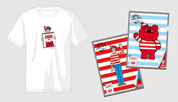 Tシャツ 2,750円、クリアファイル 440円