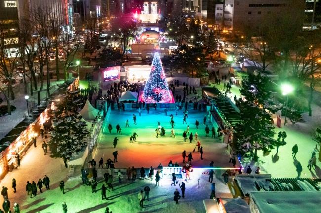 J:COMが「第71回さっぽろ雪まつり」会場内にスケートリンク「J:COMふれあいリンク」をオープン!2月4日(火)には安藤美姫スケート教室を開催!