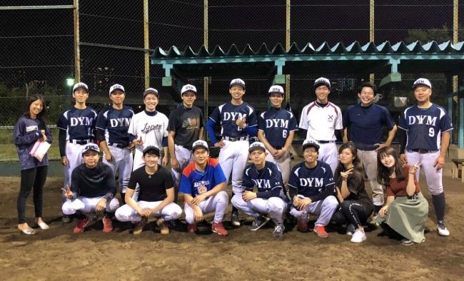 スポーツの秋!部活動制度で社内活性化DYM野球部、ITリーグにて2019年11月2日(土)決勝トーナメントに!