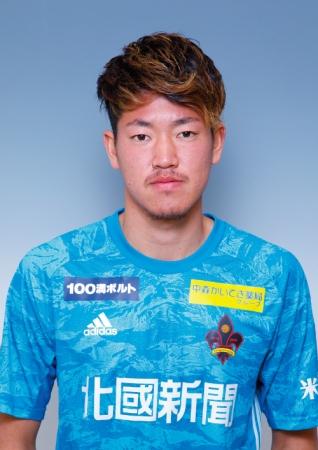 新井栄聡選手 育成型期限付き移籍期間満了のお知らせ