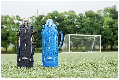 新構造飲み口でゴクゴク飲めて人気のスポーツボトルが持ちやすいハンドル & トレンドデザインにリニューアル!『サーモス 真空断熱スポーツボトル(FHT-801F/1001F/1501F)』
