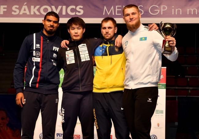 【フェンシング】男子エペ グランプリ ブダペスト大会で 山田優選手金メダル獲得!