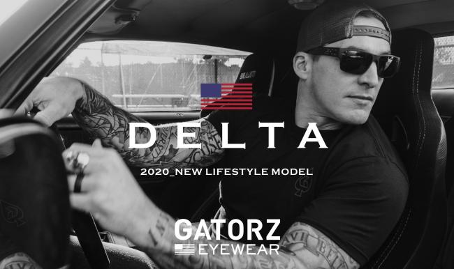 USAハンドメイド アイウェアのゲイターズ、待望のライフスタイル新製品「DELTA(デルタ)」を新発売