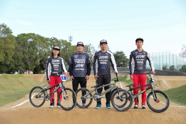 日本唯一のプロBMXチーム